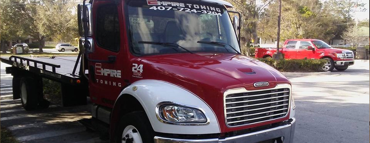New Orlando Towing Service Truck - Empire Towing, LLC