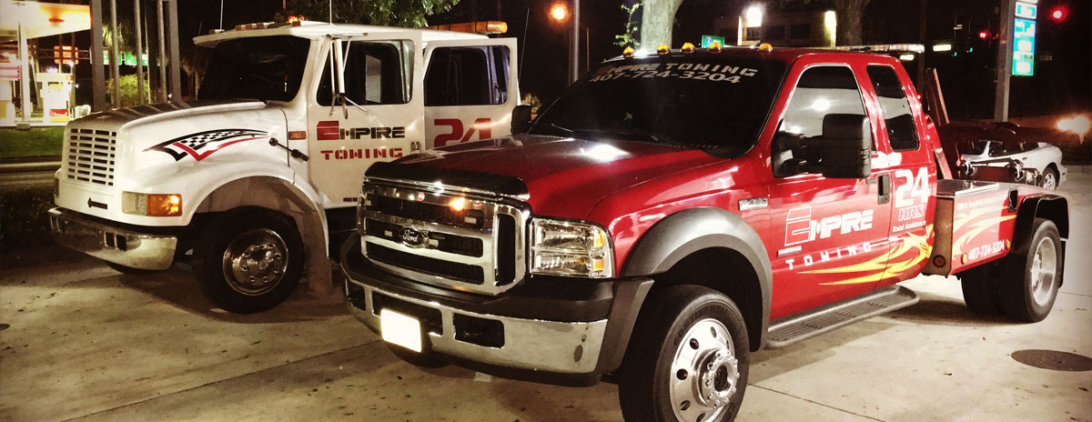 Orlando Towing Service Towing Trucks - Empire Towing, LLC