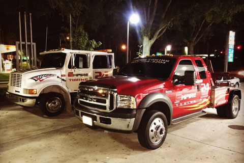 Orlando Towing Service Two Trucks Side By Side - Empire Towing, LLC
