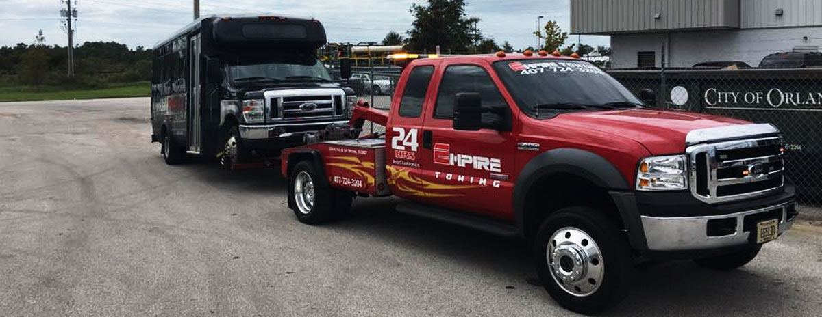 Large Vehicle Towing - Orlando Towing Service