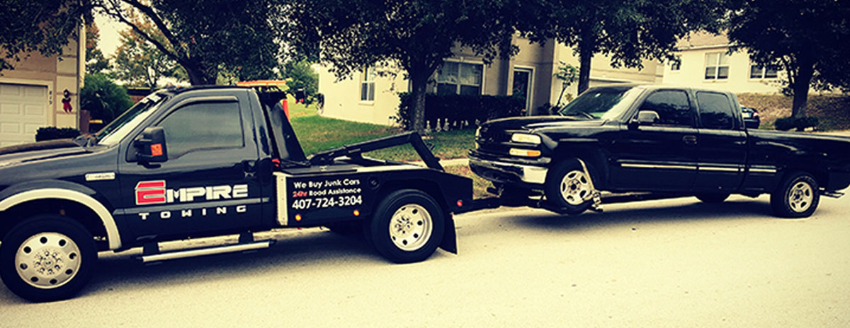 Pickup Truck Towing - Orlando Towing Service